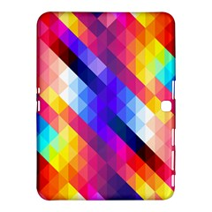 Abstract Background Colorful Pattern Samsung Galaxy Tab 4 (10 1 ) Hardshell Case