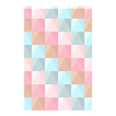 Abstract Pattern Background Pastel Shower Curtain 48  X 72  (small)  by Nexatart