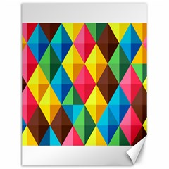 Background Colorful Abstract Canvas 12  X 16