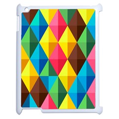 Background Colorful Abstract Apple Ipad 2 Case (white)