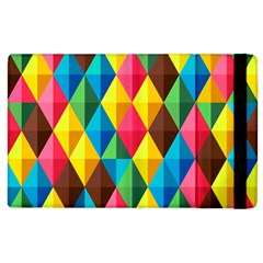 Background Colorful Abstract Apple Ipad 2 Flip Case