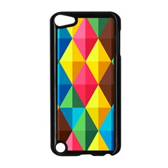 Background Colorful Abstract Apple Ipod Touch 5 Case (black)