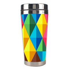 Background Colorful Abstract Stainless Steel Travel Tumblers