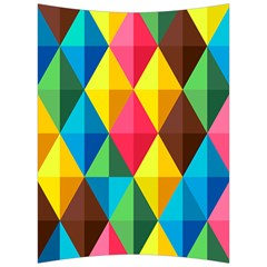 Background Colorful Abstract Back Support Cushion