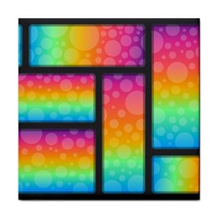Background Colorful Abstract Tile Coasters