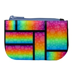 Background Colorful Abstract Large Coin Purse
