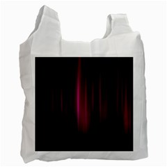 Theater Cinema Curtain Stripes Recycle Bag (one Side)