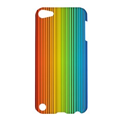 Background Colorful Abstract Apple Ipod Touch 5 Hardshell Case