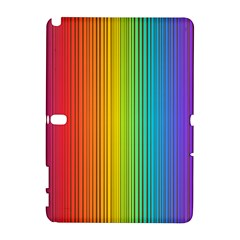 Background Colorful Abstract Samsung Galaxy Note 10 1 (p600) Hardshell Case