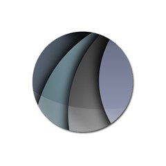 Abstract Background Abstraction Magnet 3  (round)
