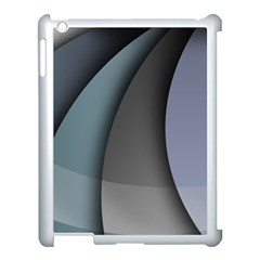 Abstract Background Abstraction Apple Ipad 3/4 Case (white)