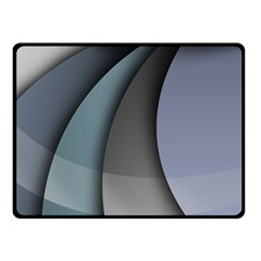 Abstract Background Abstraction Double Sided Fleece Blanket (small)