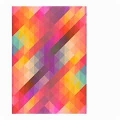 Abstract Background Colorful Pattern Small Garden Flag (two Sides)