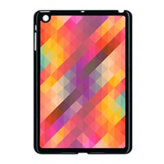 Abstract Background Colorful Pattern Apple Ipad Mini Case (black) by Nexatart