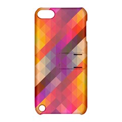 Abstract Background Colorful Pattern Apple Ipod Touch 5 Hardshell Case With Stand