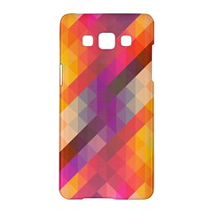Abstract Background Colorful Pattern Samsung Galaxy A5 Hardshell Case