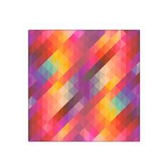 Abstract Background Colorful Pattern Satin Bandana Scarf