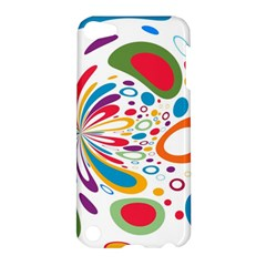 Light Circle Background Points Apple Ipod Touch 5 Hardshell Case