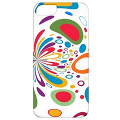 Light Circle Background Points Apple Iphone 5 Classic Hardshell Case