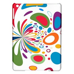 Light Circle Background Points Ipad Air Hardshell Cases