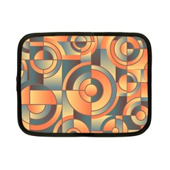 Background Abstract Orange Blue Netbook Case (small)