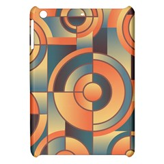 Background Abstract Orange Blue Apple Ipad Mini Hardshell Case
