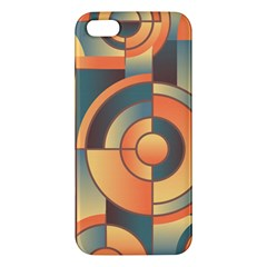Background Abstract Orange Blue Iphone 5s/ Se Premium Hardshell Case