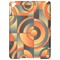 Background Abstract Orange Blue Apple Ipad Pro 9 7   Hardshell Case by Nexatart