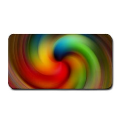 Abstract Spiral Art Creativity Medium Bar Mats