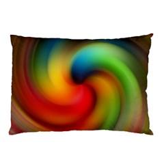 Abstract Spiral Art Creativity Pillow Case