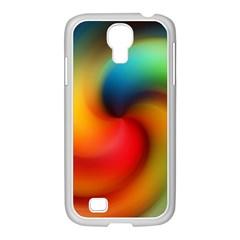 Abstract Spiral Art Creativity Samsung Galaxy S4 I9500/ I9505 Case (white)