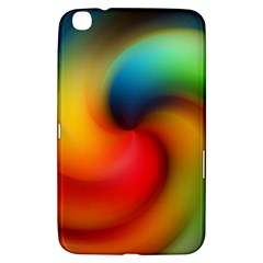 Abstract Spiral Art Creativity Samsung Galaxy Tab 3 (8 ) T3100 Hardshell Case