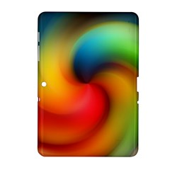 Abstract Spiral Art Creativity Samsung Galaxy Tab 2 (10 1 ) P5100 Hardshell Case  by Nexatart