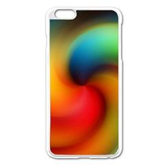 Abstract Spiral Art Creativity Apple Iphone 6 Plus/6s Plus Enamel White Case