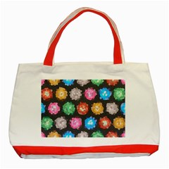 Background Colorful Abstract Classic Tote Bag (red)