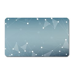 Background Abstract Line Magnet (rectangular)