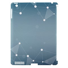 Background Abstract Line Apple Ipad 3/4 Hardshell Case (compatible With Smart Cover)