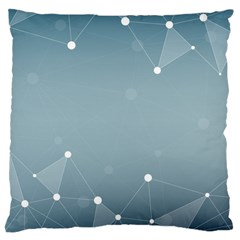 Background Abstract Line Large Cushion Case (two Sides)
