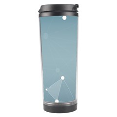 Background Abstract Line Travel Tumbler