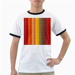 Abstract Pattern Background Ringer T Shirts