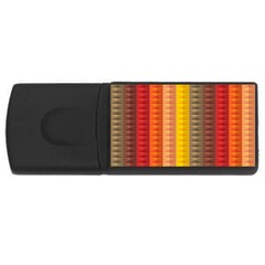 Abstract Pattern Background Rectangular Usb Flash Drive