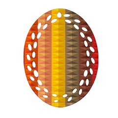Abstract Pattern Background Ornament (oval Filigree)