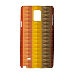 Abstract Pattern Background Samsung Galaxy Note 4 Hardshell Case