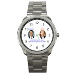 obama biden 2008 Sport Metal Watch