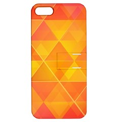 Background Colorful Abstract Apple Iphone 5 Hardshell Case With Stand by Nexatart