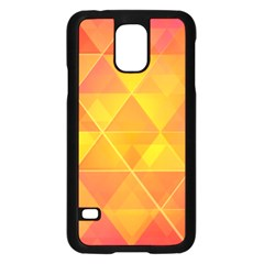 Background Colorful Abstract Samsung Galaxy S5 Case (black)