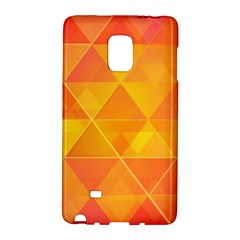 Background Colorful Abstract Samsung Galaxy Note Edge Hardshell Case