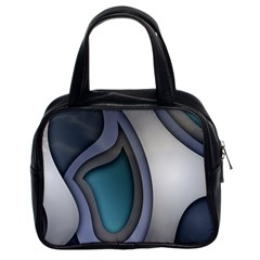 Abstract Background Abstraction Classic Handbags (2 Sides) by Nexatart