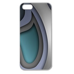 Abstract Background Abstraction Apple Seamless Iphone 5 Case (clear)