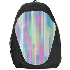 Background Abstract Pastels Backpack Bag